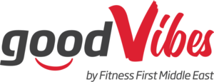 Good vibes logo (a loyalty mobile application by Fitness First)